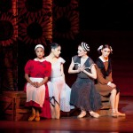 Misty Copeland, Paloma Herrera, Gillian Murphy & Sarah Lane in Alexei Ratmansky's 'The Bright Stream'. Photo: Rosalie O'Connor, courtesy of American Ballet Theatre.