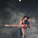 Rachel Speidel Little and Damon Mahoney in 'Up In The Air'. (Photo: Sean Patrick McArdle, courtesy The Milissa Payne Project)