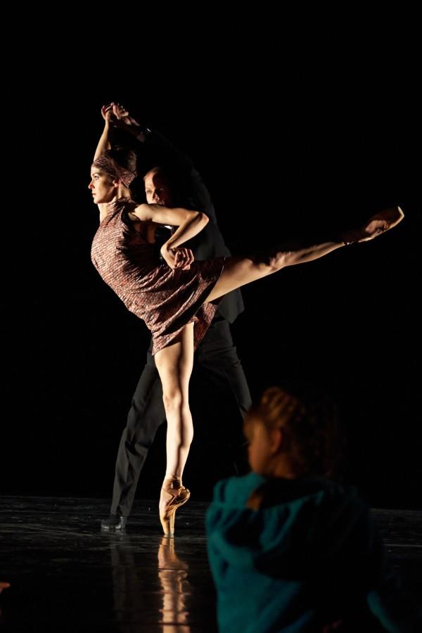 Rachel Speidel Little and Bryan Ketron in Milissa Payne Bradley's SHELTER (Photo: David DeSilva)