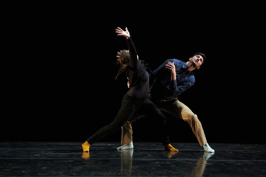Robyn Gerbaz and Chris De Vita in Maurya Kerr's BRUTALISMS (Photo: David DeSilva)