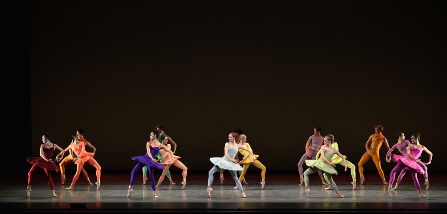 American Ballet Theatre dancers in Mark Morris' GONG (Photo: Gene Schiavone)