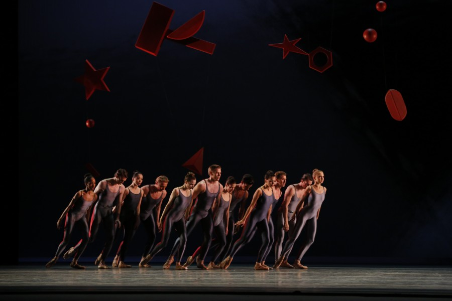 American Ballet Theatre dancers in Alexei Ratmansky's PIANO CONCERTO #1 (Photo: Marty Sohl)