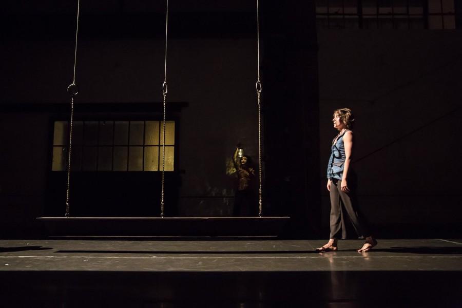 MaryStarr Hope in Jo Kreiter's GIVE A WOMAN A LIFT (Photo: Kegan Marling)