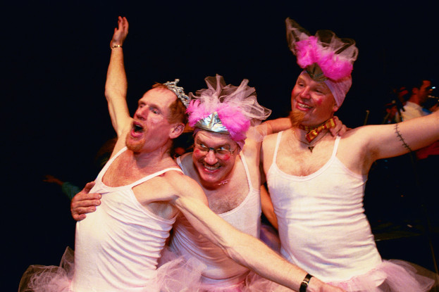 San Francisco Gay/Lesbian Band's DANCE-ALONG NUTCRACKER (Photo: Jane Philomen-Cleland)
