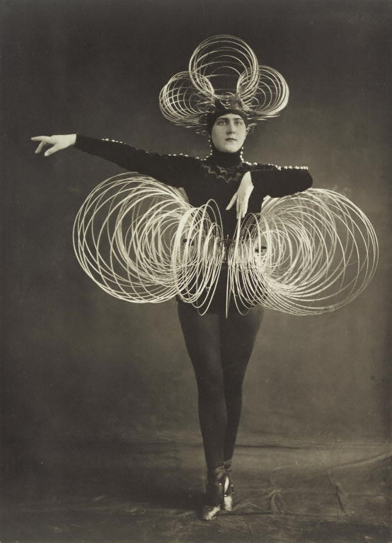 From the Triadic Ballet by Oskar Schlemmer, 1926 (Photo: Karl Grill, courtesy J. Paul Getty Museum)