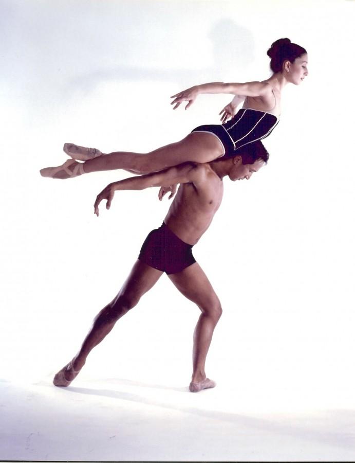 Diablo Ballet alumni Karen Portner Lapointe and the late Kyongo Kim. (Photo: Ashraf Habibullah)