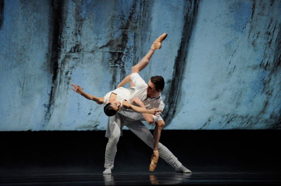 Yuan Yuan Tan and Luke Ingham in Liam Scarlett's HUMMINGBIRD (Photo: Erik Tomasson)
