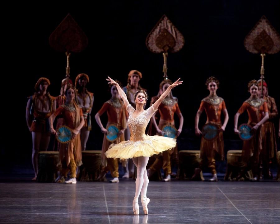 Misty Copeland as Gamzatti in American Ballet Theatre's production of La Bayadère (Photo: Rosalie O'Connor)
