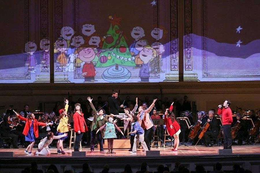 A Charlie Brown Christmas - Live!  (Photo courtesy the San Francisco Symphony)