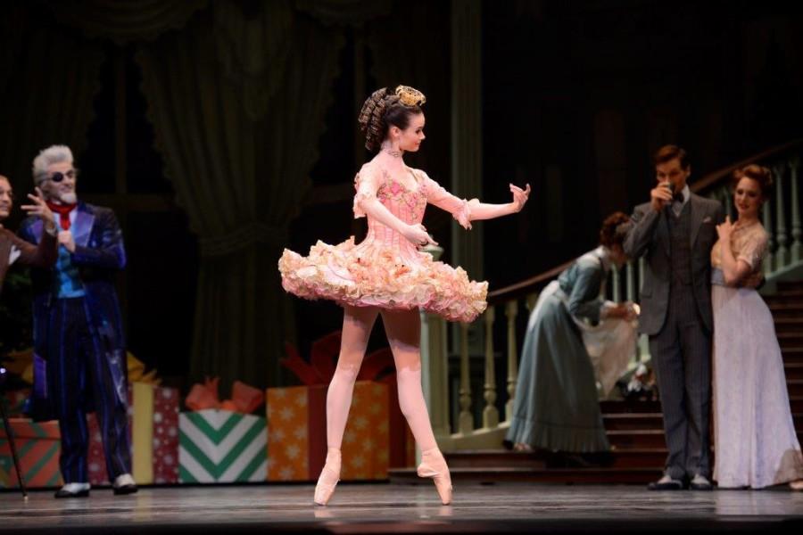 Elizabeth Powell as The Doll in San Francisco Ballet's The Nutcracker (Photo: Erik Tomasson)