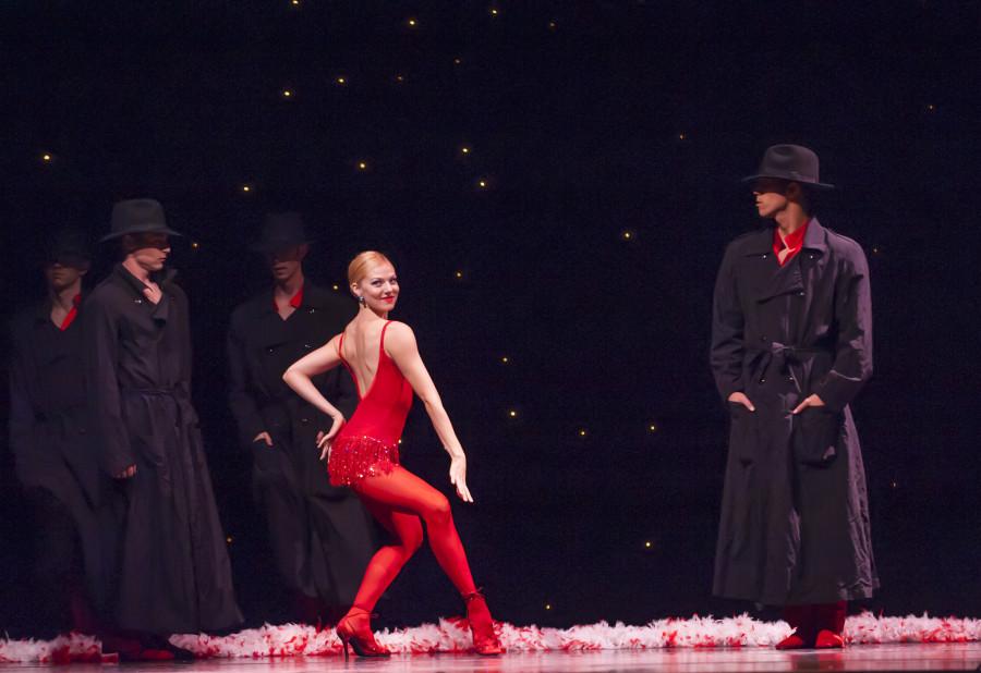 Smuin Ballet dancers in Uncorked: The Christmas Ballet (Photo: David Allen)