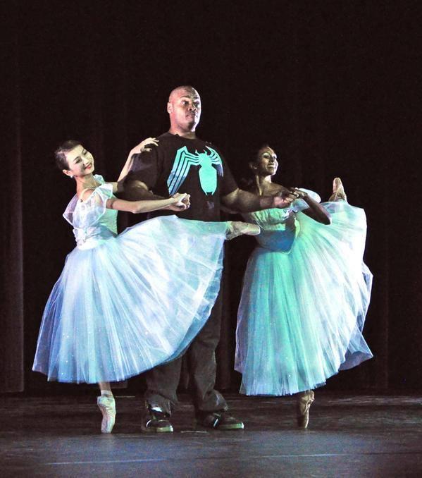 Oshini Wanigasekara with the Brooklyn Ballet (Photo courtesy Brooklyn Ballet)