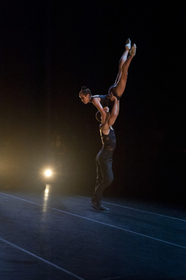 Raychel Diane Weiner and Jeremy Bannon-Neches in Robert Dekkers' YOURS IS MINE (Photo: Natalia Perez)