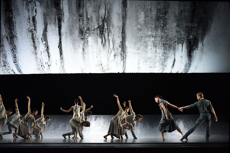 The awesome industrial landscape of Liam Scarlett's Hummingbird, for San Francisco Ballet (Photo: Erik Tomasson)