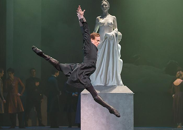 Edward Watson as Leontes in Christopher Wheeldon's A Winter's Tale at the Royal Opera House (Photo: Emma Kauldhar)