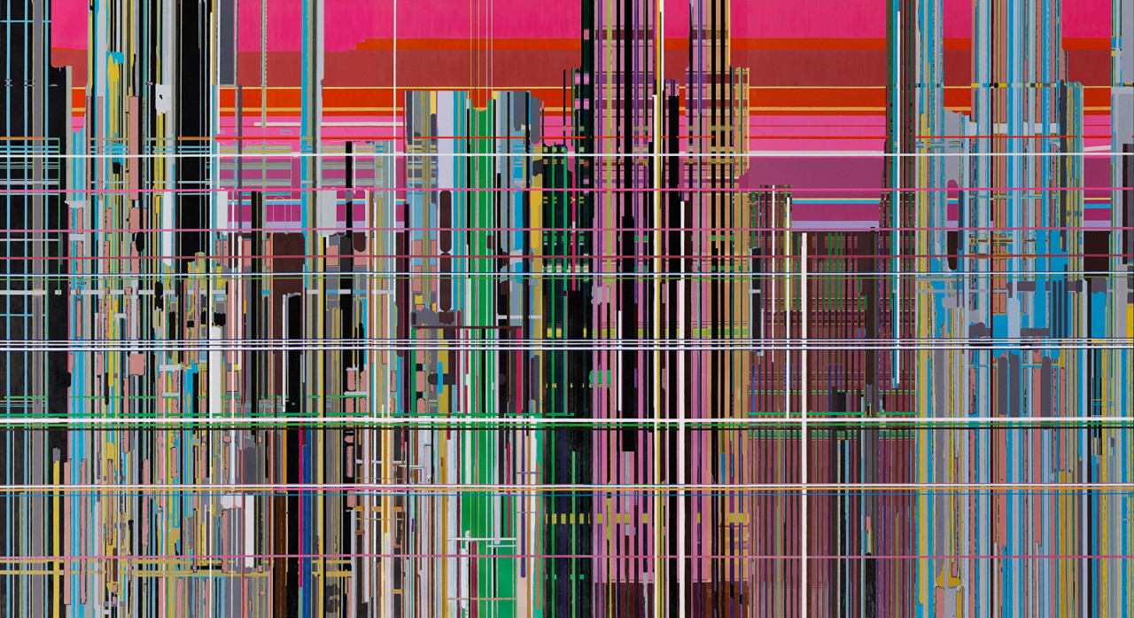 Liberation No. 1 (2013) by Liu Wei (b. 1972). Oil on canvas. Courtesy of Rubell Family Collection, Miami. © Liu Wei