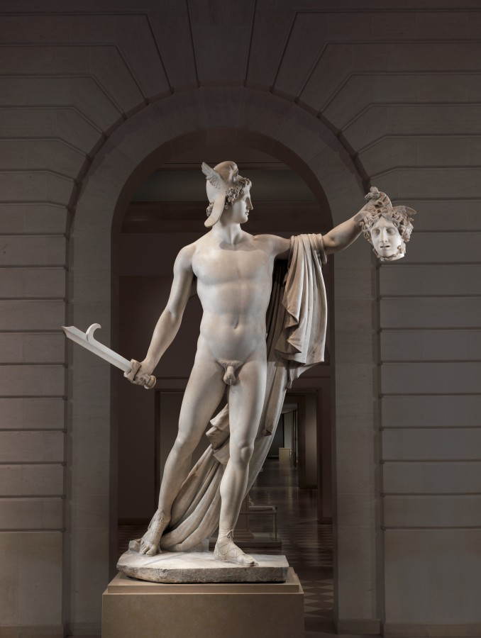 Perseus with the Head of Medusa, Antonio Canova, 1804-6, Metropolitan Museum of Art