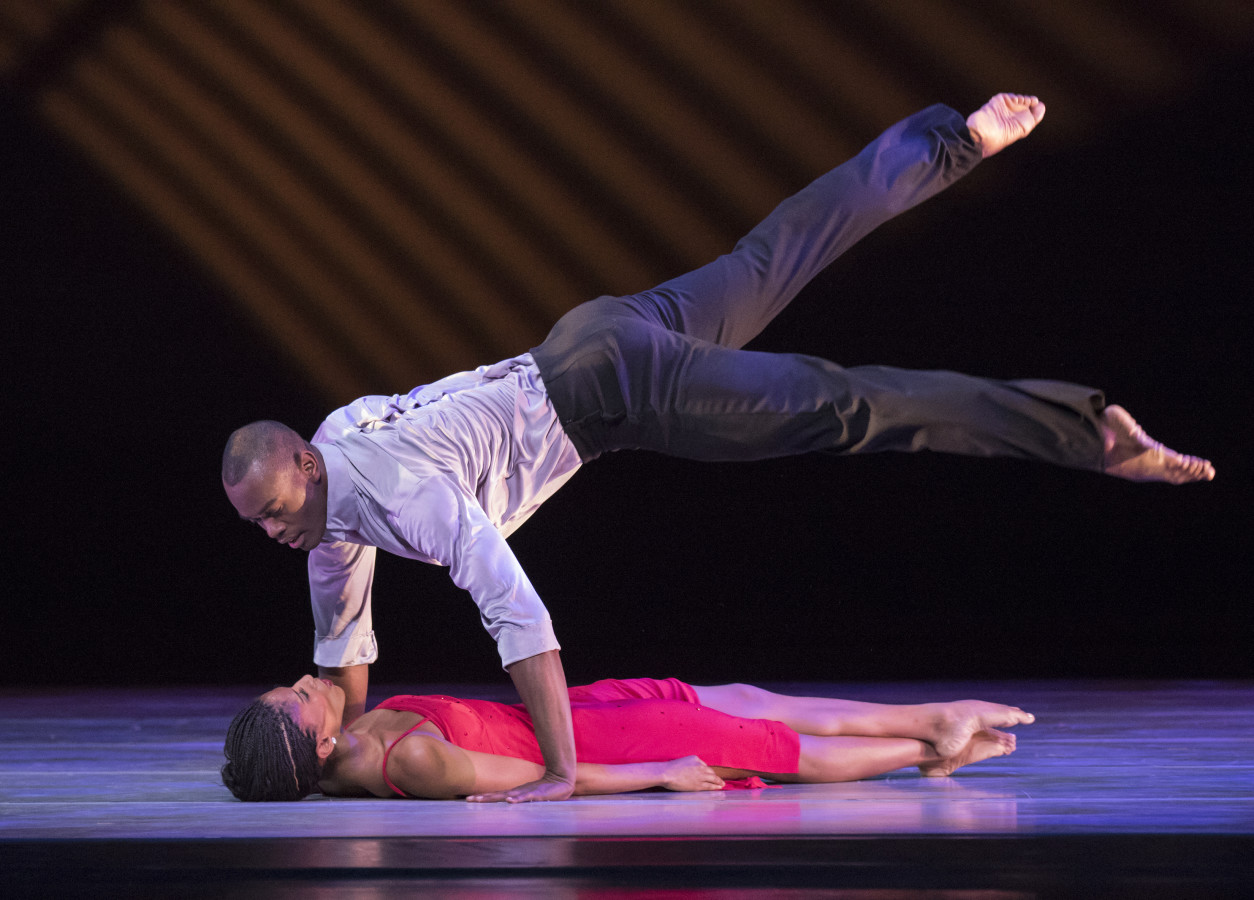 Jamar Roberts and Jacqueline Green in Judith Jamison's A CASE OF YOU (Photo: Paul Kolnik)