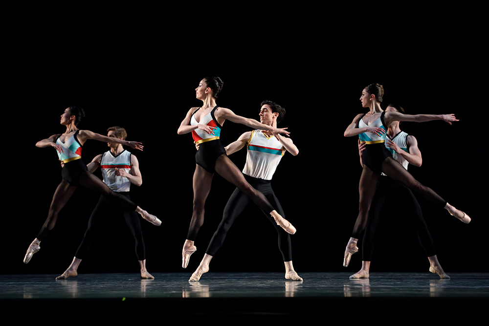 San Francisco Ballet in the world première of Justin Peck's IN THE COUNTENANCE OF KINGS (Photo: Erik Tomasson)