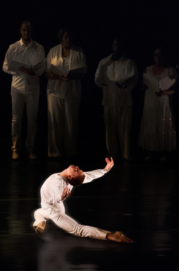 Oakland Ballet's Evan Flood in Graham Lustig's STONE OF HOPE (Photo: )