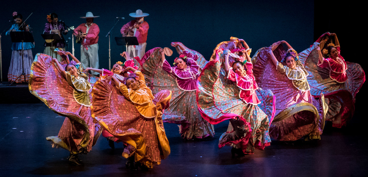 Ensambles Ballet Folklórico de San Francisco at the 38th Annual San Francisco Ethnic Dance Festival (Photo: Mark Muntean)
