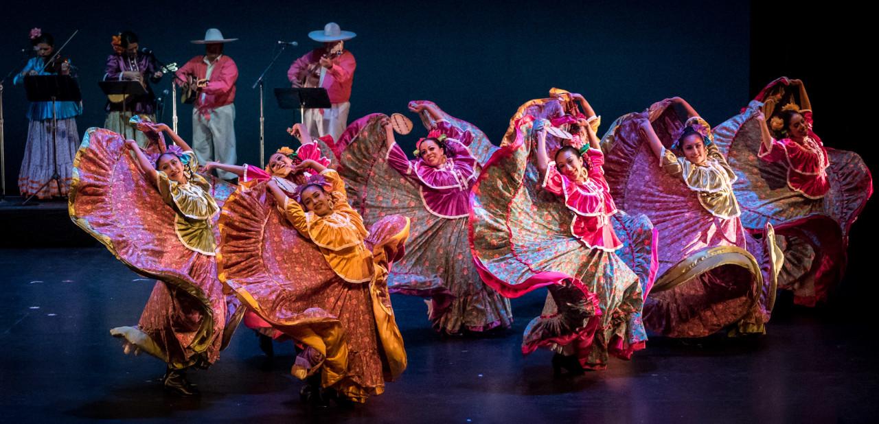 Ensambles Ballet Folklórico de San Francisco at the 38th Annual San Francisco Ethnic Dance Festival (Photo: Mark Muntean)