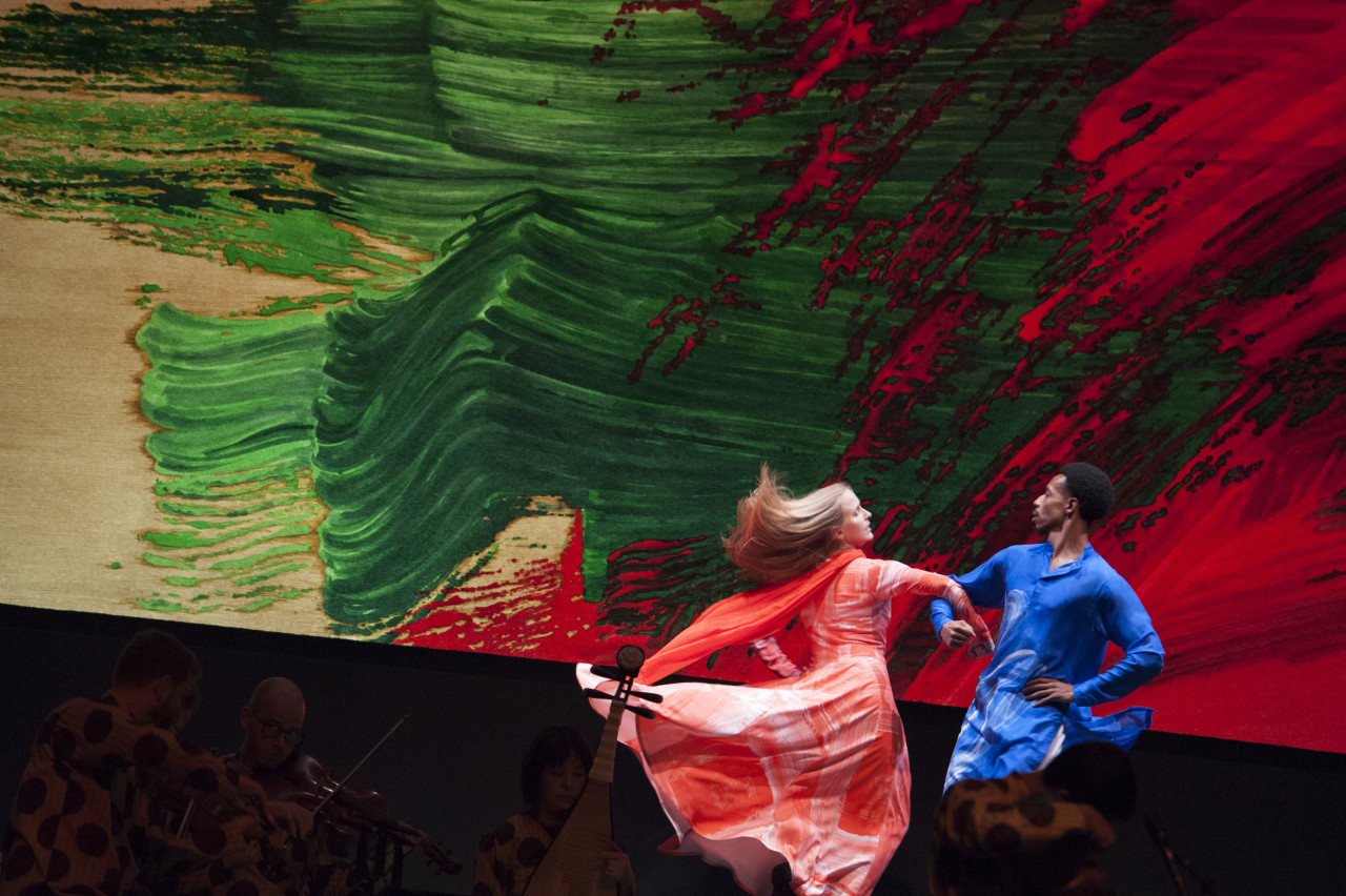 Lesley Garrison and Durell R. Comedy in Mark Morris' Layla and Majnun (Photo: Susan Millman)