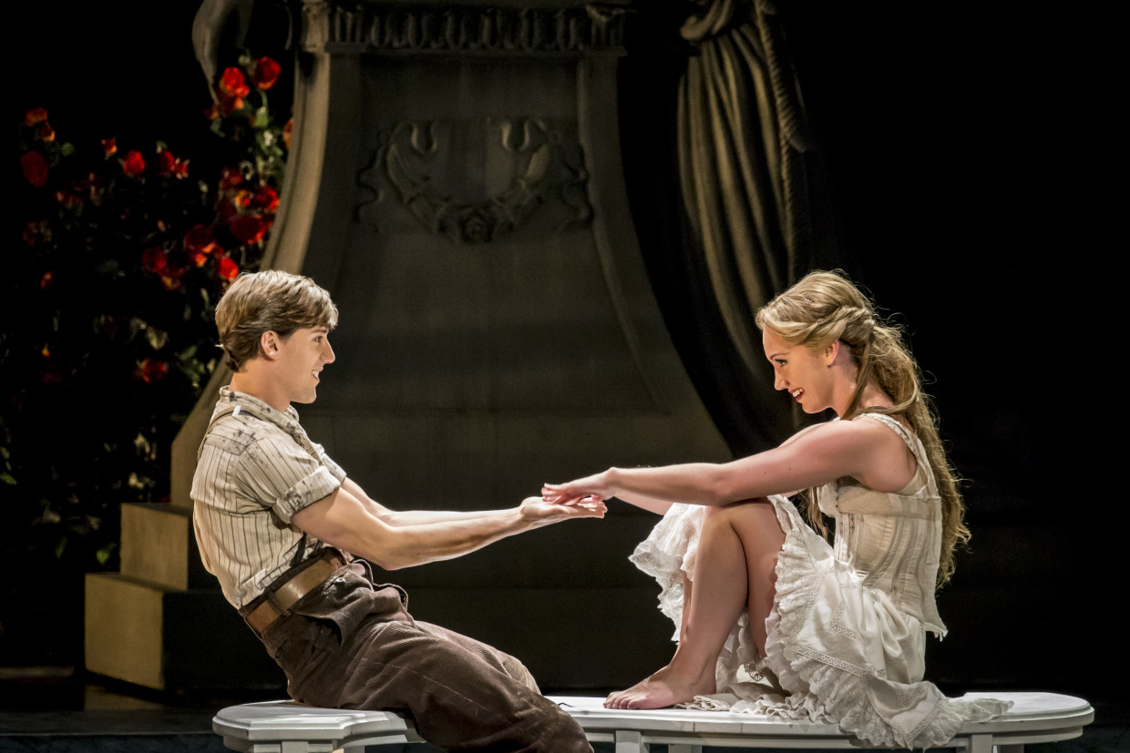 Dominic North as Leo and Ashley Shaw as Aurora in Matthew Bourne's SLEEPING BEAUTY (Photo: Johan Persson)